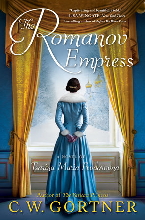 The Romanov Empress Book Cover Picture