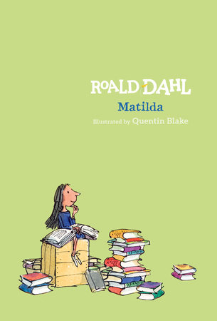 The cover of the book Matilda