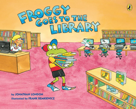 Froggy Goes to the Library by Jonathan London