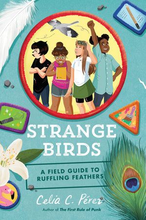 book cover: Strange Birds