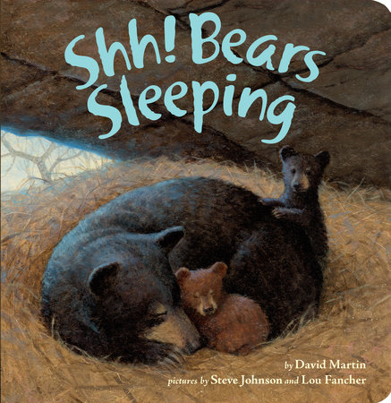 Shh! Bears Sleeping by David Martin
