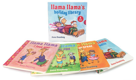 Llama Llama's Holiday Library by Anna Dewdney