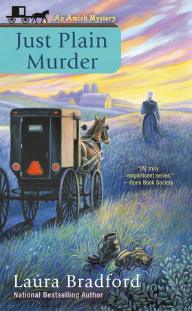 Just Plain Murder by Laura Bradford