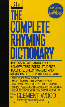 the complete rhyming dictionary by clement wood penguinrandomhouse