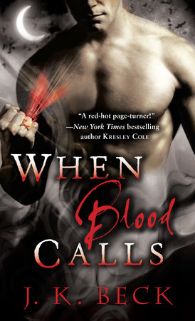 When Blood Calls Book Cover Picture