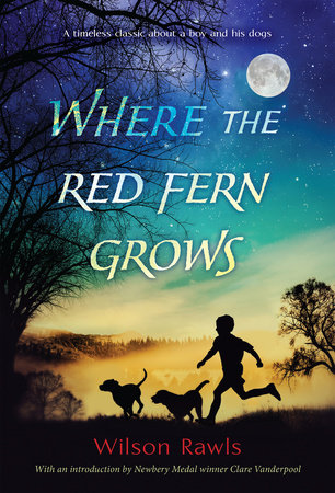 WHERE THE RED FERN GROWS Book Cover Picture