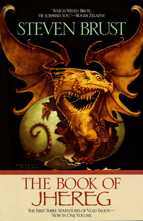 The cover of the book The Book of Jhereg