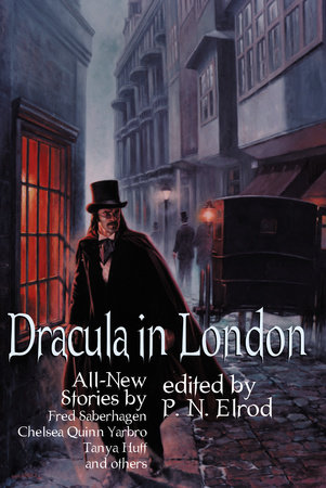 The cover of the book Dracula in London