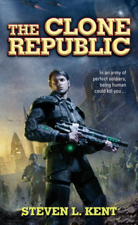 The cover of the book The Clone Republic