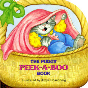 The Pudgy Peek-a-boo Book