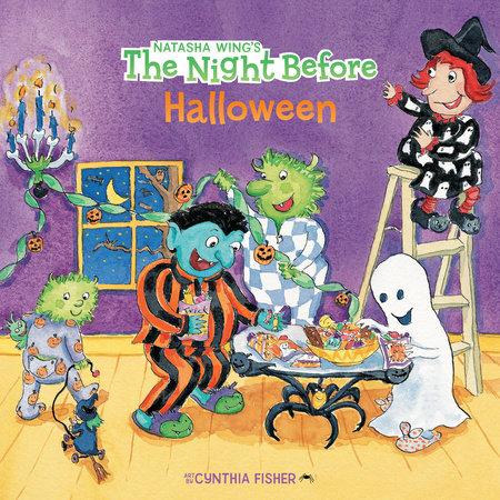 The Night Before Halloween by Natasha Wing