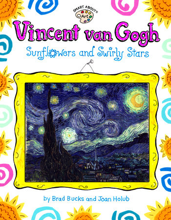 Vincent Van Gogh: Sunflowers and Swirly Stars