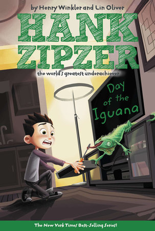 The Day of the Iguana #3 by Henry Winkler; Illustrated by Tim Heitz