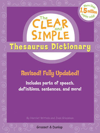 Clear/simple Thes Gb by Harriet Wittels and Joan Greisman