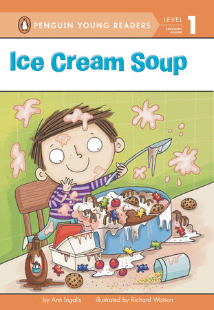 Ice Cream Soup Book Cover Picture