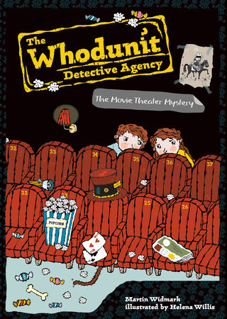 The Movie Theater Mystery #7 by Martin Widmark; Illustrated by Helena Willis