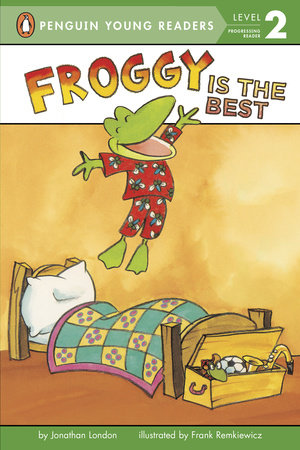 Froggy Is the Best by Jonathan London