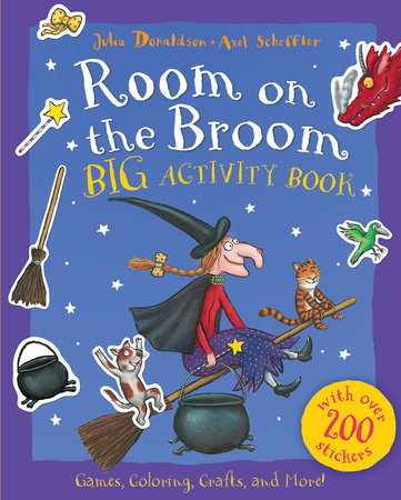 Room on the Broom Big Activity Book by Julia Donaldson