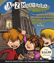 A to Z Mysteries: Books H-J Cover
