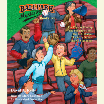Ballpark Mysteries Collection: Books 1-5 cover