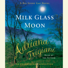 Milk Glass Moon Cover