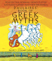 D'Aulaires' Book of Greek Myths Cover