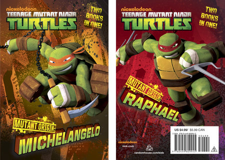 Mutant origin michelangelo raphael teenage mutant ninja turtles by michael teitelbaum