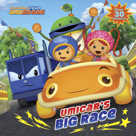 UmiCar's Big Race (Team Umizoomi) by Random House