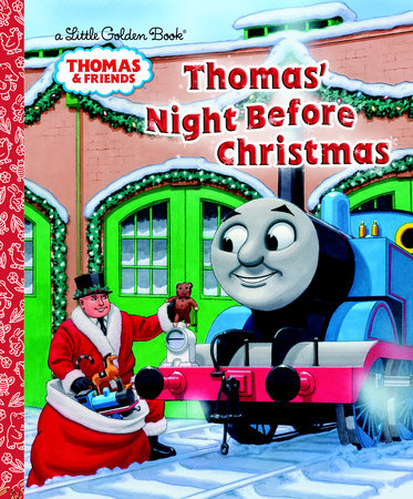 Thomas' Night Before Christmas (Thomas & Friends) by R. Schuyler Hooke
