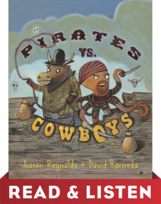 Pirates vs. Cowboys: Read & Listen Edition