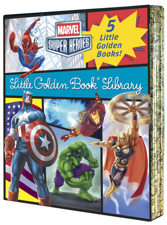 Marvel Little Golden Book Library (Marvel Super Heroes) by Various