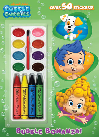 Bubble Bonanza! (Bubble Guppies) by Golden Books