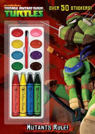 Mutants Rule! (Teenage Mutant Ninja Turtles) by Frank Berrios