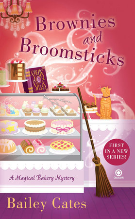 The cover of the book Brownies and Broomsticks