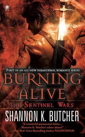 Burning Alive by Shannon K. Butcher