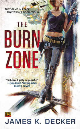 The Burn Zone by James K. Decker