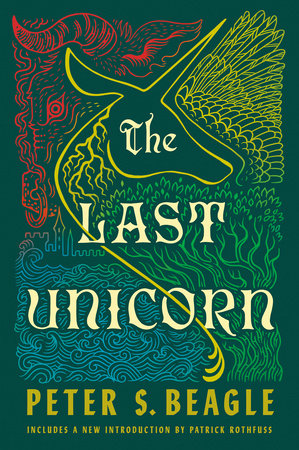 The cover of the book The Last Unicorn