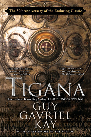 The cover of the book Tigana