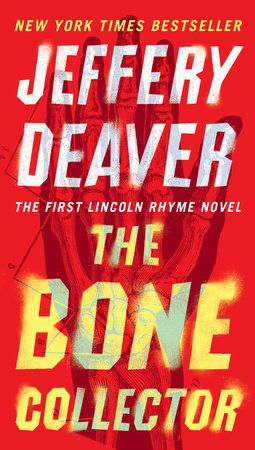The cover of the book The Bone Collector