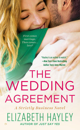 The Wedding Agreement by Elizabeth Hayley