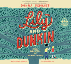 Lily and Dunkin cover big