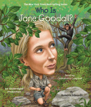 Who Is Jane Goodall? Cover