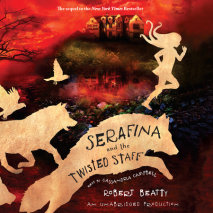 Serafina and the Twisted Staff Cover