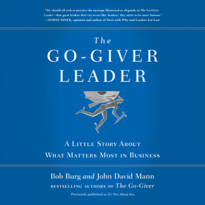 The Go-Giver Leader cover