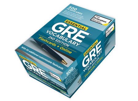 Essential GRE Vocabulary, 2nd Edition: Flashcards + Online by Princeton Review