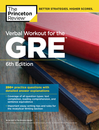 Verbal Workout for the GRE, 6th Edition by Princeton Review