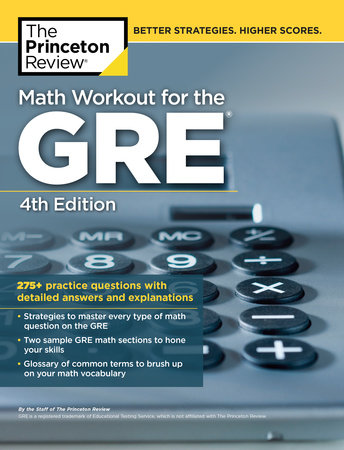 Math Workout for the GRE, 4th Edition by Princeton Review