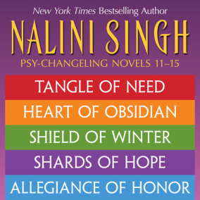 Nalini Singh: The Psy-Changeling Series Books 11-15