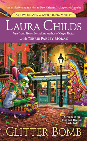 Glitter Bomb by Terrie Farley Moran,Laura Childs