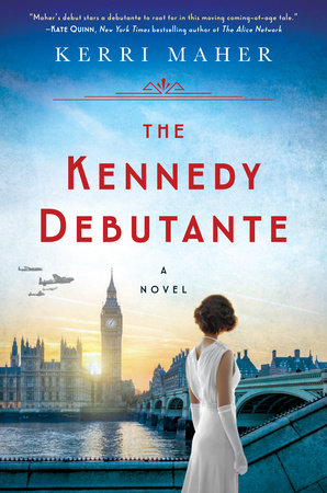 The cover of the book The Kennedy Debutante